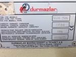 DURMAZLAR 2,5 METRE 4 MM GİYOTİN MAKAS